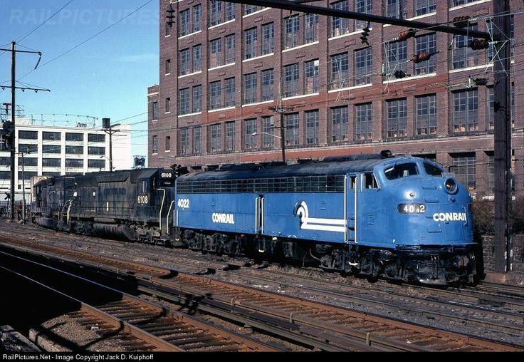 Photo CR 4022 Conrail EMD E8(A) at
