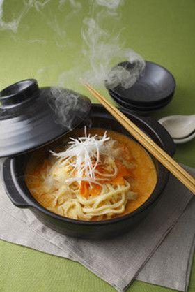 豚バラと根菜の酒かす鍋