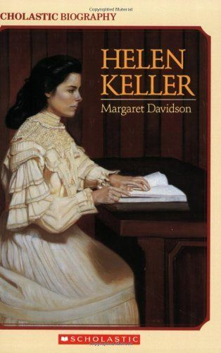 Helen Keller (Scholastic Biography) by Margaret Davidson, http://www.amazon.com/dp/0590424041/ref=cm_sw_r_pi_dp_tkOfqb16DX1C3