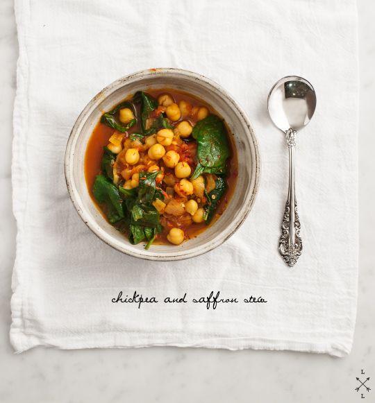 Chickpea & Saffron Stew // loveandlemons.com