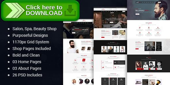 [ThemeForest]Free nulled download Unisex Salon | Barber Shop Hair Spa and Beauty Salon PSD Template from http://zippyfile.download/f.php?id=34328 Tags: barber, beauty, beauty salon, hair salon, haircut, hairdresser, makeup, manicure, massage, salon, shop, spa, wellness