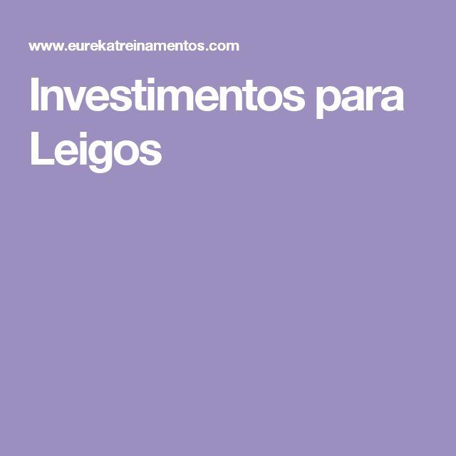 Investimentos para Leigos