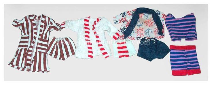 Ken Clone Mego Four Boys Beach wear 1974 Wards Brown Shorts  Ship Anchor top  | Dolls & Bears, Dolls, Barbie Vintage (Pre-1973) | eBay!