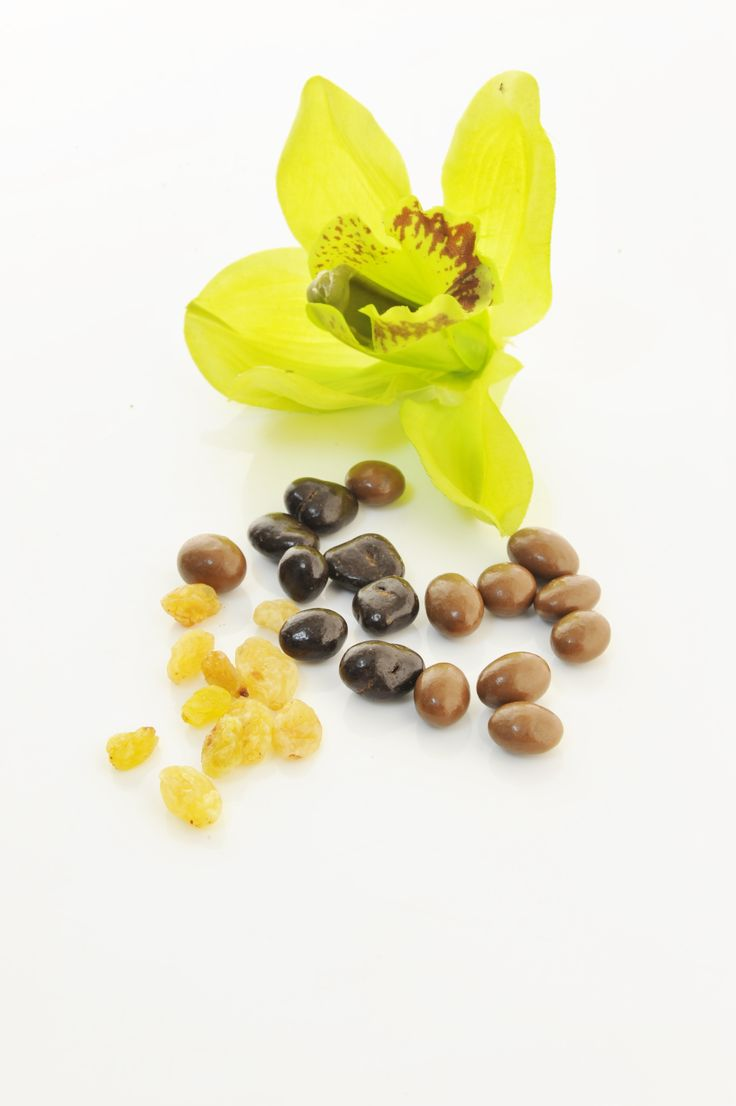 Chocolate coasted raisins from Forrey & Galland introduced for the holy month of Ramadan.