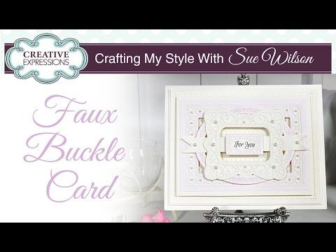 Faux Buckle Card (PartiCraft (Participate In Craft))