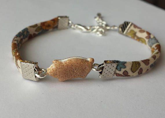 Bracelet réglable pour enfant liberty de fabrication