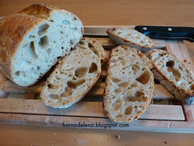 PAN DE TRIGO SEMOLINA Y MASA MADRE. ¡Viva el pan casero! Si te gusta hacerlo en casa tienes que probar esta receta!