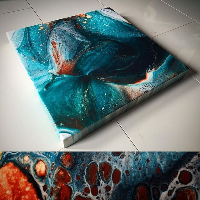 Epoxy Resin Art Techniques : Best abstract resin artwork images on pinterest