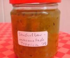 """Rezept Stachelbeermarmelade """"Tropica"""" von sauerampferstängelchen - Rezept der Kategorie Saucen/Dips/Brotaufstriche"""