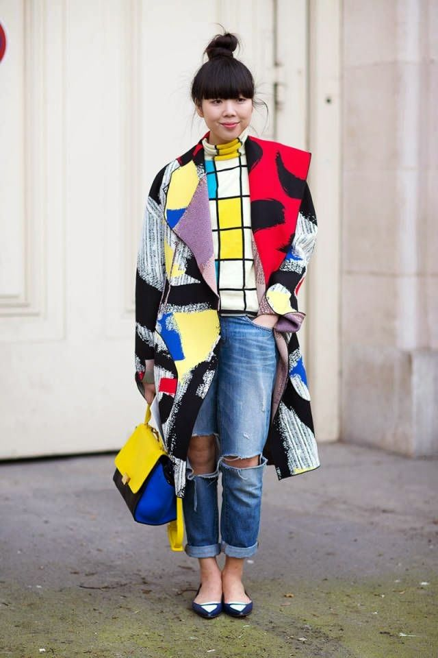 FASHION AND STYLE: Chines colorful fashion