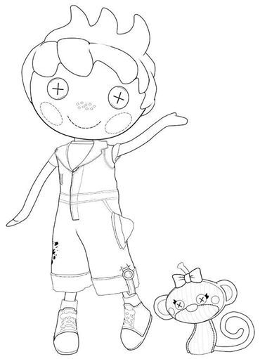 Lalaloopsy Coloring Pages Pdf : Best lalaloopsy images on pinterest party