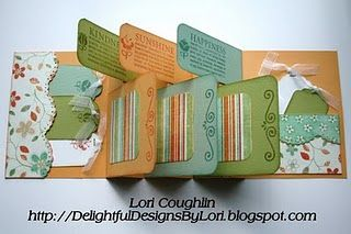 """Tag-N-Flag"" Mini Album - basic construction tutorial here: http://creationsbypatti.blogspot.com/2010/01/love-u-flag-card.html:"