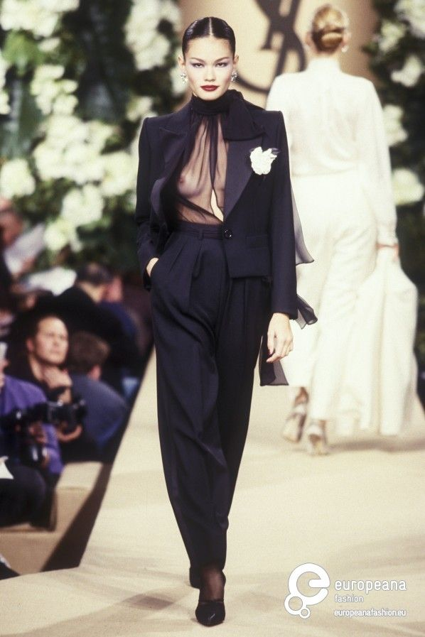 Yves Saint Laurent, Spring-Summer 1999, Couture