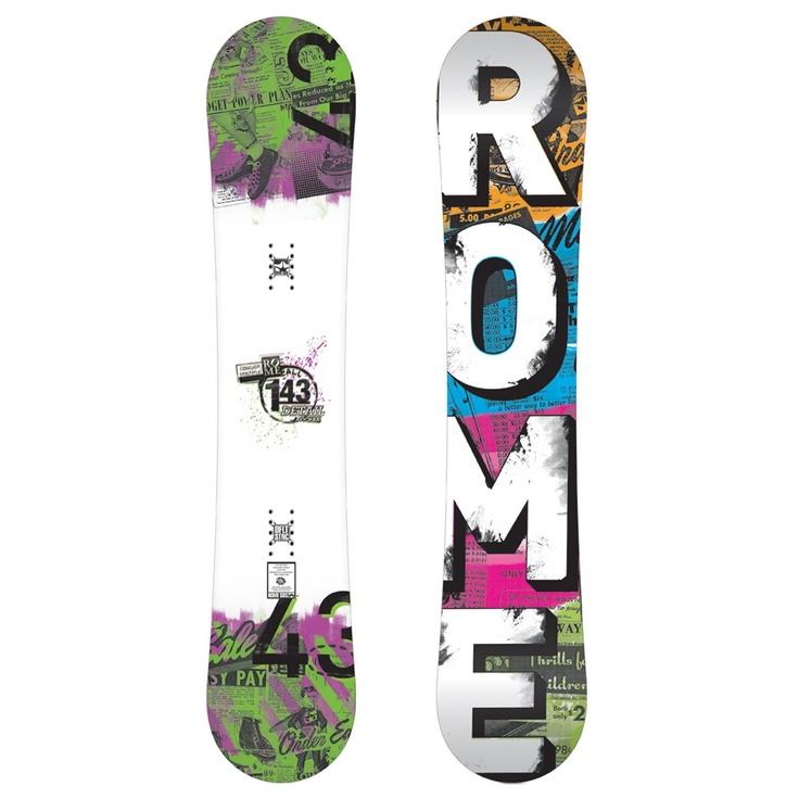 Rome Detail Rocker Snowboard - Women's 2012