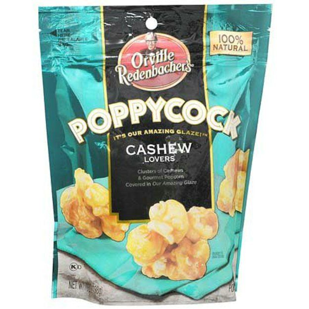 I'm learning all about Orville Redenbacher Poppycock Gourmet Popcorn Snack Cashew Lovers at @Influenster!