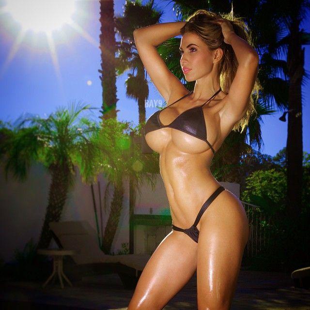 Erotic caucasian woman