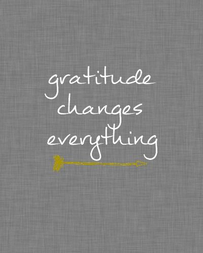 gratitude changes everything ~ drak gray linen free printable