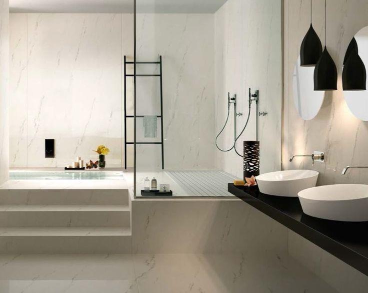 Maxtile Statuario Venato   Large Format Porcelain Tiles For Walls And Floors.  The Perfect Budget Solution For A U0027marbleu0027 Bathroom. Precious Marble U2026