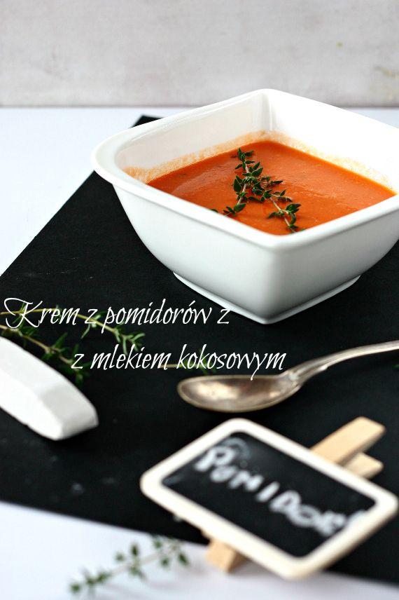 krem z pomidorow