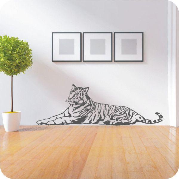 Wandtattoo Tiger liegend - Bild 1