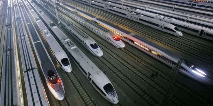 China To Build 30,000-km High Speed Rail Network By 2020       The Chinese government plans to expand the country's high-speed rail ne...