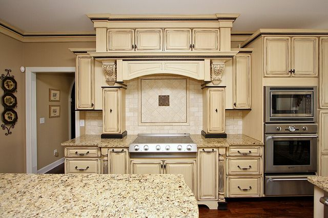 Kitchen cabinets glaze and distress (21) by Superior Remodeling, via Flickr