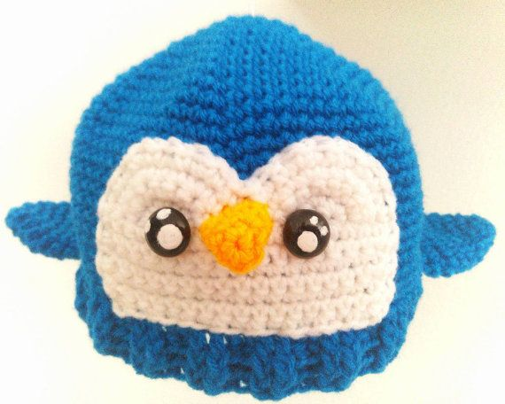 Handcrafted owl hat for baby or toddler baby by TheGreenHouse222