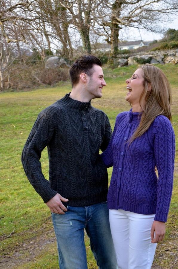 Men's & Ladies Aran Sweaters - www.standun.com