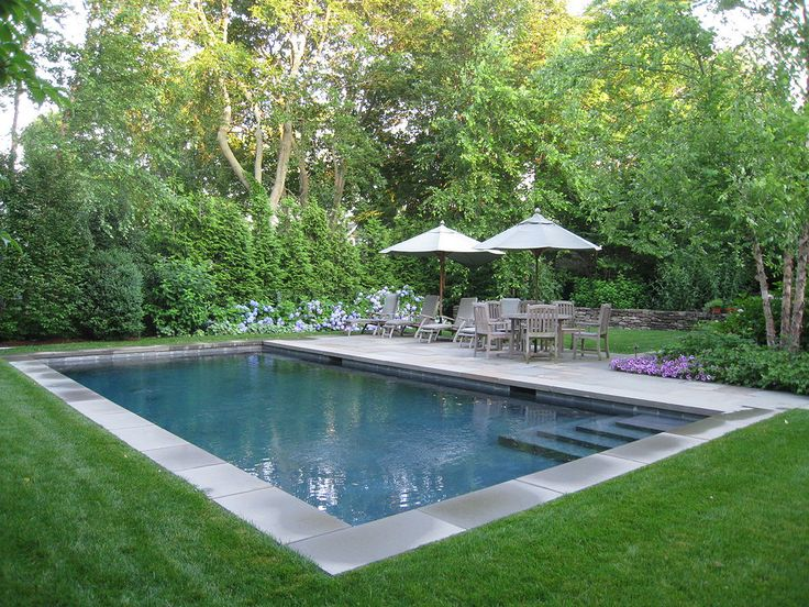 handsome pool by edmund hollander landscape architects sag harbor