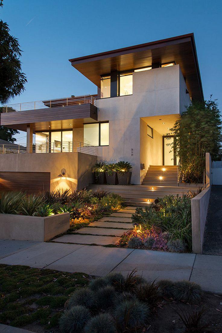 Minimalist Exterior House Design Ideas: 38 Best Duplex Facades Images On Pinterest