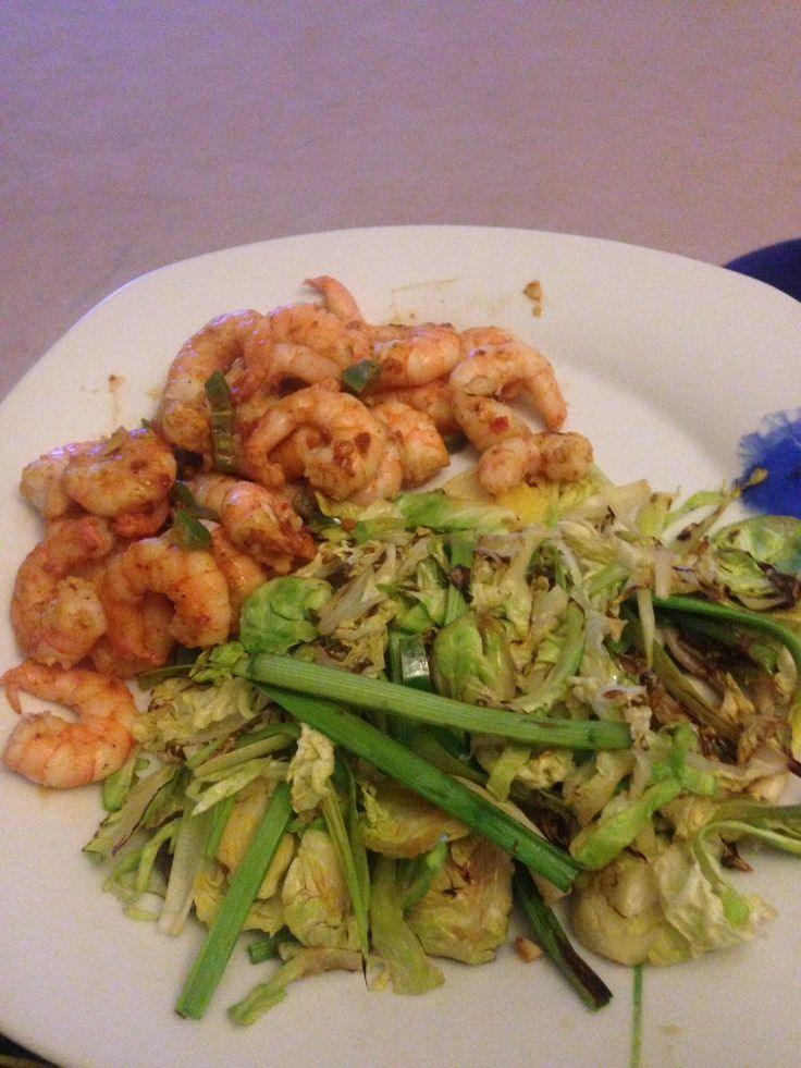 Chilli garlic and lime prawns with stir fry veg Step 2