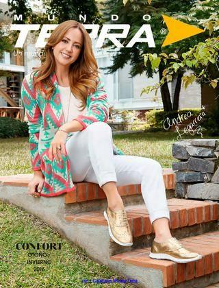 Zapato Confort Terra 2016  Zapato Confort Terra para Mujer del 2016, coleccion otoño invierno. Ver mas catalogos terra en http://www.catalogosmx.moda/2016/07/mundo-terra-catalogos-otono-invierno.html