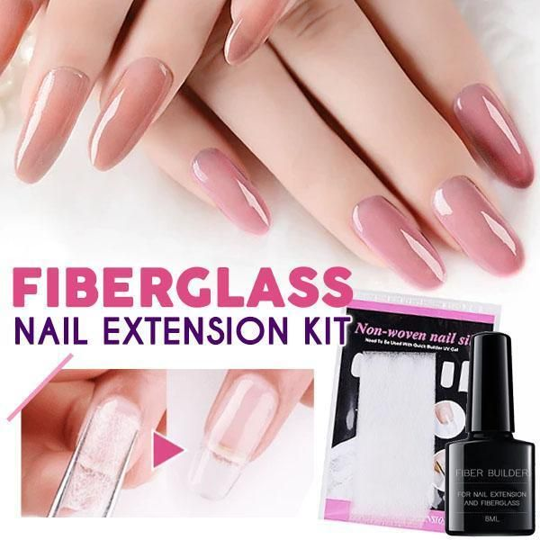 Your Nail Extensions Doesn T Need To Cost A Fortune Stop Wasting Time And Money Going To Nail Salons To Have Those Easy Fiberglass Nails Nail Extensions Nails