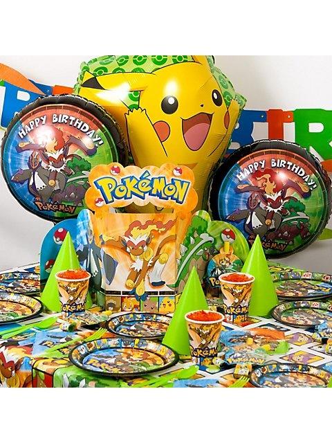 Pokemon Party Ultimate Kit -Pokemon Party Supplies