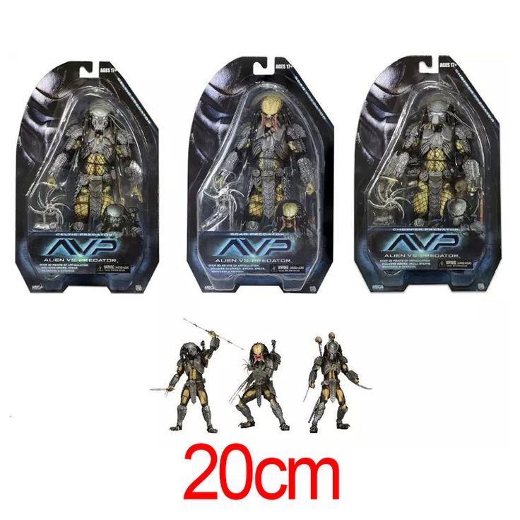 Neca 3 шт./компл. фильм чужой против хищника фигурку довольно прохладно чужой Xenomorph научно модель коллекция игрушек коробку