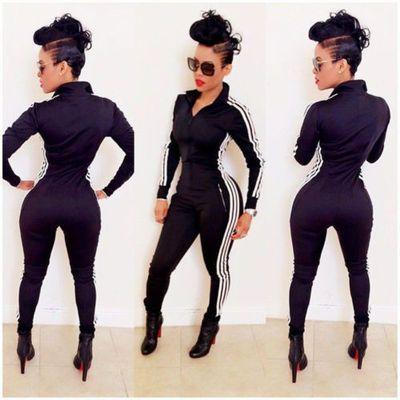 Sexy Strip Bodysuit jumper Catsuit Kaoir Inspired