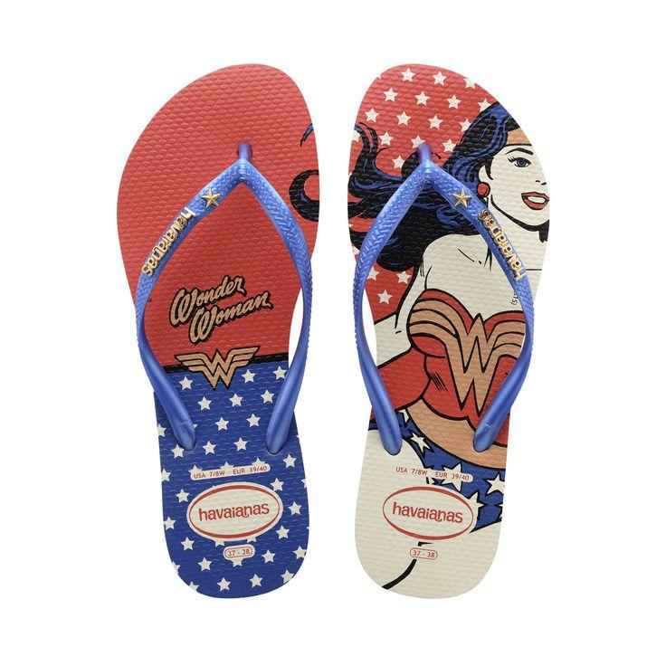 Slim Wonder Woman- Women's Flip Flops- Havaianas