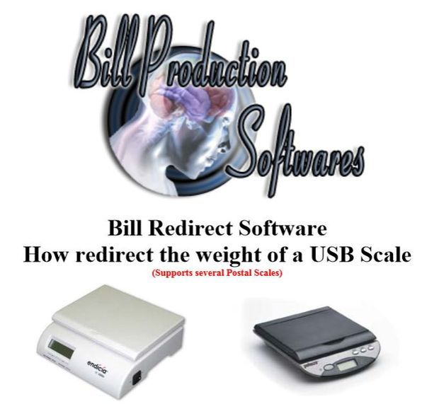 How to connect a USB Postal Scale or Balance to a Windows PC application software or in Excel