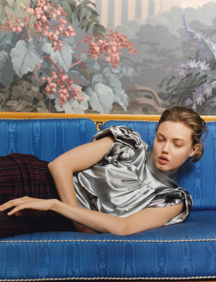 Lindsey Wixon wears all clothes Hillier Bartley Photography Letty Schmiterlow i-D