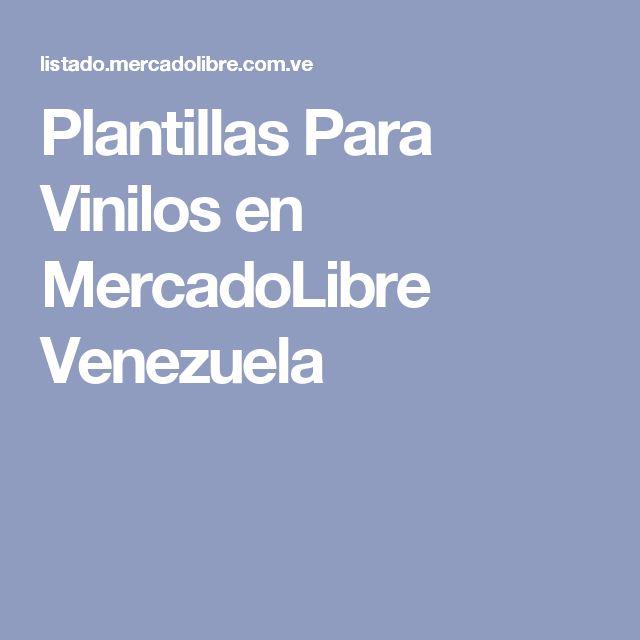 Plantillas Para Vinilos en MercadoLibre Venezuela