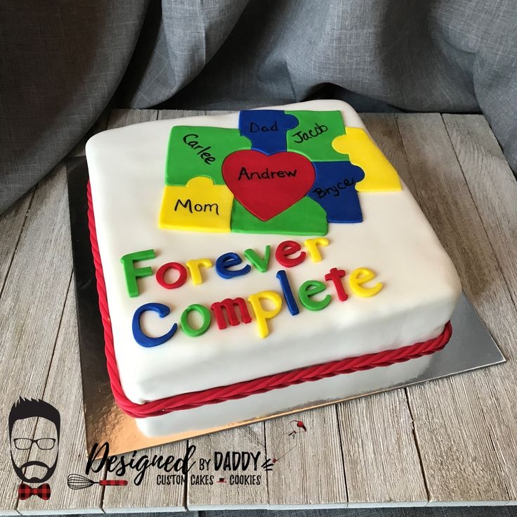 Adoption Celebration Cake Gotchacake Fondant