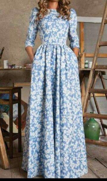 Modest Dress.