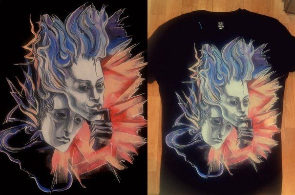 T-shirts, painting