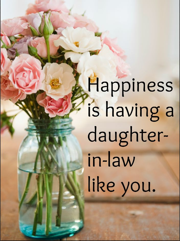 Share a beautiful daughter-in-law quote to let yours know how you feel about her. Sure, she married your son--but she also holds a special place in...
