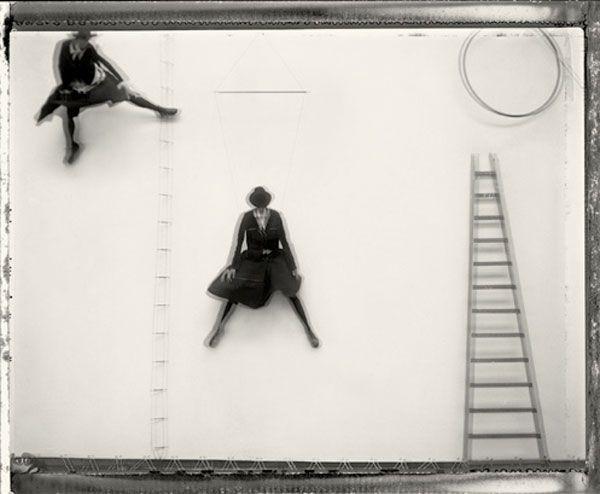 ☽ Sarah Moon ☾ French Photographer -  Colour pigment print.