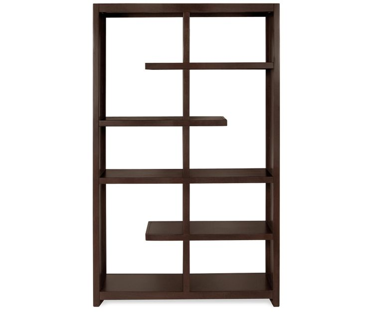 Devin Open Bookcase/Room Divider - Contemporary styling and open concept  add to the Devin's
