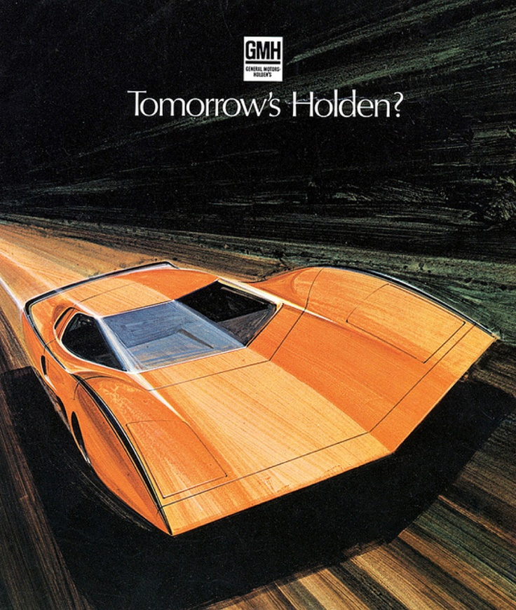 Marvelous 1969 Holden Hurricane Concept Car Pictures