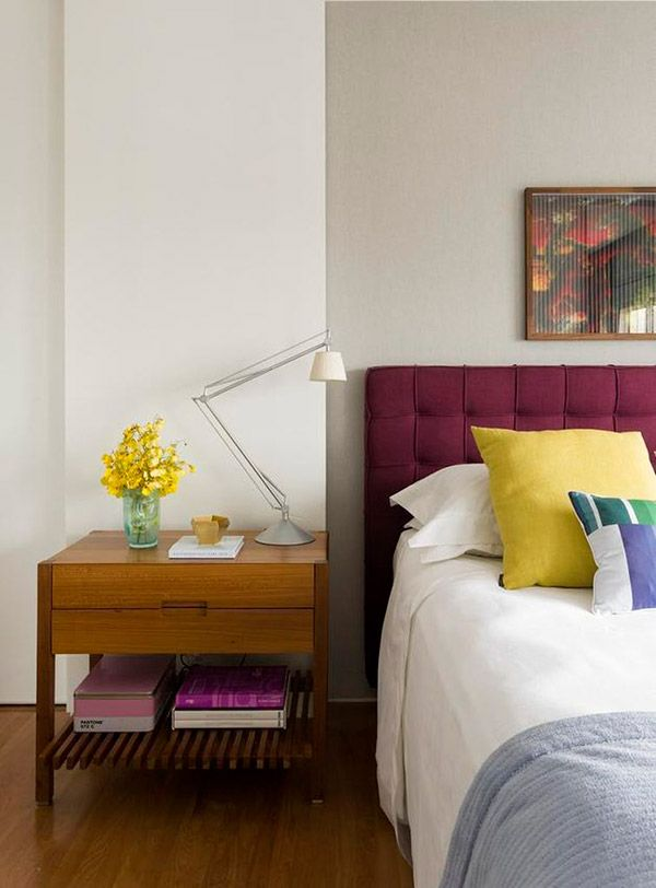 Bedroom With Color Touches And Pop Art