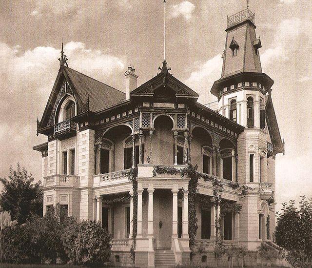 10 Casarões da Avenida Paulista para matar saudades: Residência de Von Büllow – 1895, projeto de Augusto Fried: