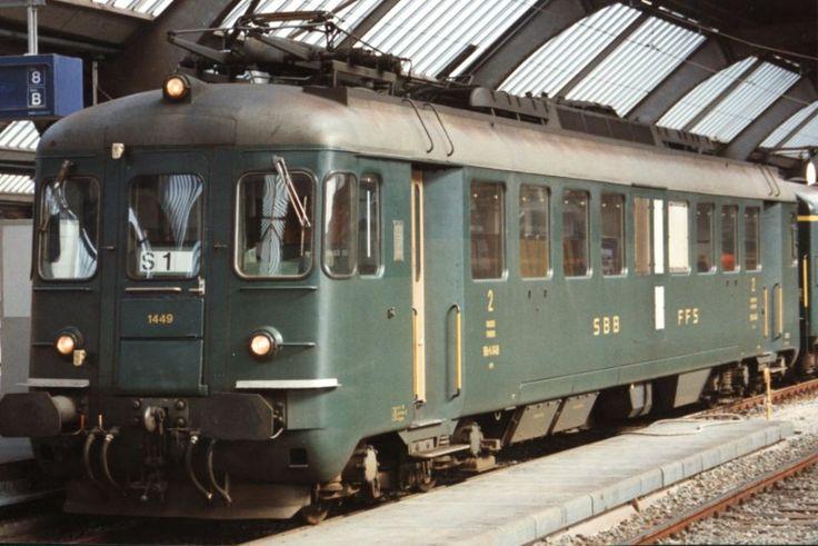 Schweizerische Bundesbahnen (SBB) / Chemins de fer fédéraux suisses (CFF) / Ferrovie Federali Svizzere (FFS), RBe 4/4 1449